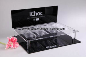 OEM Black and White Acrylic Storage Case Display (HY-YX009)