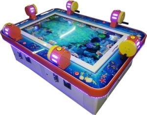 Mantong Newest Coin Operated 2 Players Fishing Game Machine/Catching Fish Game Machine for Sale pictures & photos