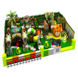 Colorful Tree House Amusement Park Playground on Discounting