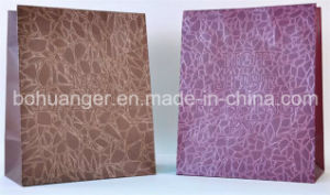 Special Pattern Snak Skin Style Promotion Paper Bag