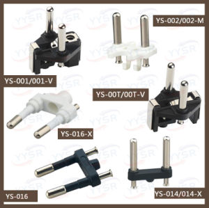 Hot Selling VDE Plug Insert, Europe Plug Insert, French Plug Insert pictures & photos