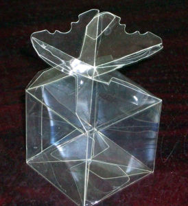 Crystal Flower Candle Plastic Packing Box (folding box) pictures & photos