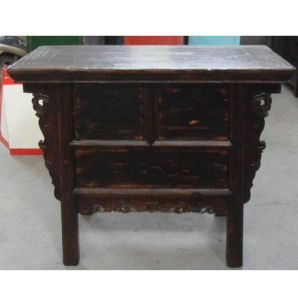 Antique Chinese Wood Cabinet with 3 Drawers Lwb903 pictures & photos