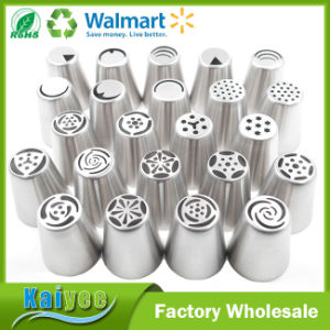 High Quality Stainless Steel Decorating Tube Nozzles Pastry Icing Tips pictures & photos