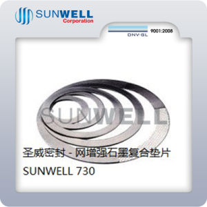Graphite Gasket Reinforced with Metal Mesh pictures & photos