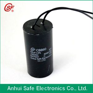 High Quality Sizing AC Motor Running Capacitor 10UF pictures & photos