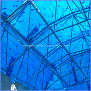High Light Transparent Polycarbonate Sun Sheet for Swimming Pool Cover pictures & photos