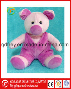 Cute Colorful Baby Toy of Plush Pig pictures & photos
