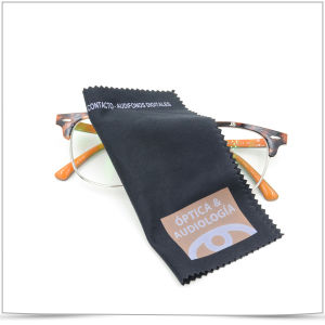 Custom Microfiber Eyeglass Cloth pictures & photos