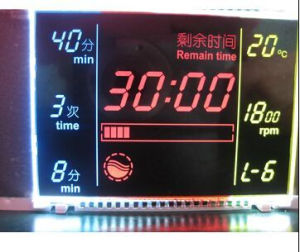 Va LCD Module, Used in Washing Machine