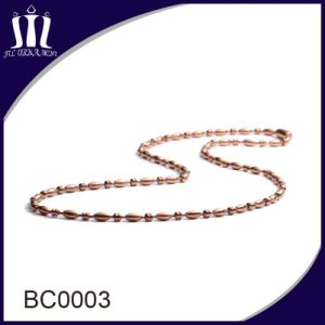 3.2mm Colorized Long Ball Chain Beaded Neckalce pictures & photos