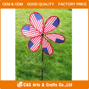 Toy Decoration Windmill with Fiberglass Pole pictures & photos