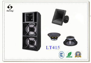 Professional Long Excursion Touring Speaker Audio Lt415