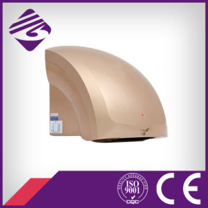Golden Wall Mounted Small ABS Hotel Automatic Hand Dryer (JN70904B)