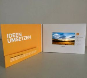 OEM ODM Video Brochure Card pictures & photos