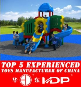 Newest 2016 Whloe Plastic Playground, Outdoor, Indoor Playground, Safe Playground HD16-158A pictures & photos