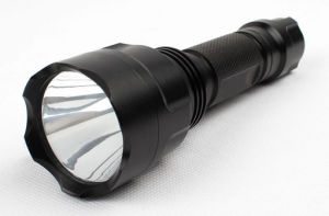 Rechargeable LED Flashlight C8, Classical, Cheap pictures & photos