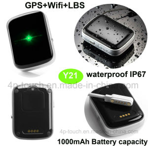 Waterproof SOS Alarm GPS Personal Tracker with SIM Card Slot Y21 pictures & photos