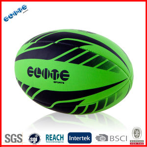 Foam Rugby Ball With Rubber Bladder