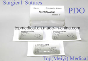 Surgical Suture with Needle -- Polydioxanone pictures & photos