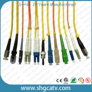 Fiber Optic Cable Patch Cord with Sc/FC/LC/St/MTRJ Connector pictures & photos