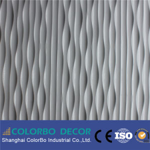 Decorative Eco Material MDF Wall Panel 3D Effect pictures & photos
