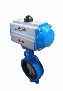 Pneumatic Butterfly Valve Hat-240d pictures & photos