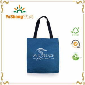 Fashion Popular OEM Durable Natural Cotton Tote Shopping Bag pictures & photos