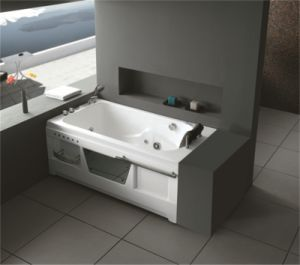 Monalisa Durable Whirlpool Jacuzzi Bathroom Bathtub (M-2004 R/L) pictures & photos