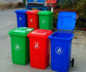 High Quality Plastic Dust Bin/ Waste Bin 120L pictures & photos