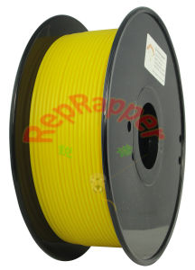 Well Coiled ABS 3.0mm Yellow 3D Printing Filament