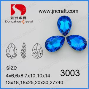 Imitation Crystal Fancy Loose Jewelry Stone (DZ-3003) pictures & photos