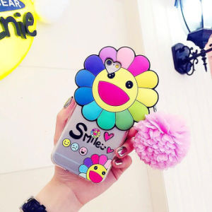 Hot Fashion Sunflower Daisy Silicone Case/Cover for iPhone 6