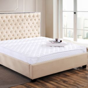 5 Star Hotel 5cm Gusset Mattress Topper and Box Quilted Mattress Protector pictures & photos