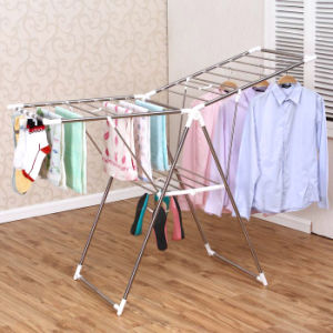 Stainless Steel Foldable Multi-Fuction Coat Drying Rack pictures & photos