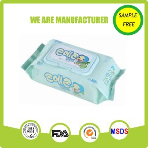 Alcohol Free Nonwoven Soft Natural Pure Water Comfort Baby Tissue
