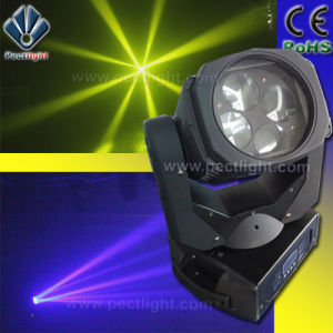 Speedy Movement 4-Eye 10W Disco LED Moving Head Beam Light pictures & photos