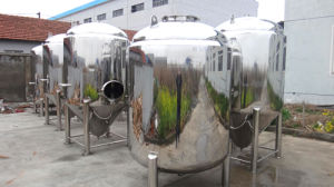 Stainless Steel Tank for Home Brewing with Side Manway pictures & photos