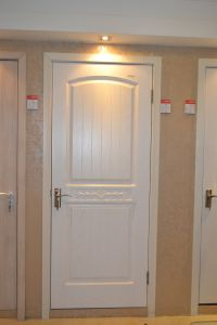 Three-Dimensional PVC Film MDF Door pictures & photos