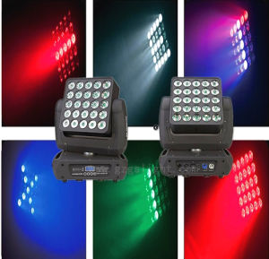 CREE 25*12W Matrix LED Moving Head Stage Effect Light 4-in-1 RGBW (A25-12)
