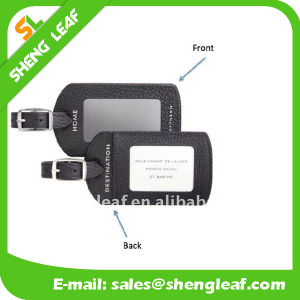 3D Travel Brand PVC Rubber Luggage Tag (SLF-LT044)
