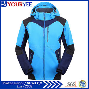 Custom OEM ODM Fashion Softshell Jacket with Hood (YRK118)