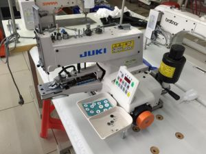 Juki Automatic Four Hole Button Attaching Machine Button Sewing Machine (373D) pictures & photos