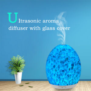 Aroma Diffuser with Glass Cover (GL-1013-A-026) pictures & photos