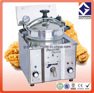 Mdxz-16 Hot Sale Counter-Top Style Electric Chicken Pressure Fryer pictures & photos