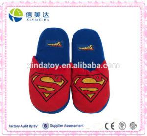 DC Comics Superman Logo 3D Plush Superhero Slipper
