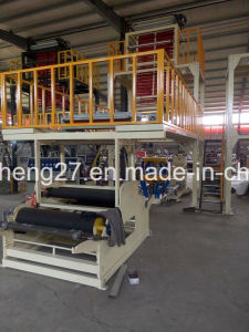 Chsj-50/65ABA Interlayer Co-Extrusion Film Blowing Machine with SGS Approval pictures & photos