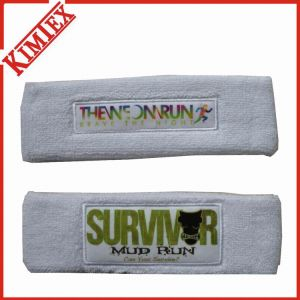 Sports Cotton Terry Promotion Sweatband and Headband pictures & photos