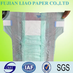 Disposable Soft Cotton Baby Diaper (Leo-1120) pictures & photos