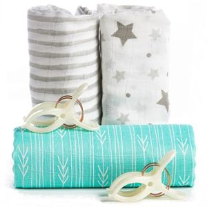 Swaddle Blanket Premium 100% Bamboo Muslin Wrap pictures & photos
